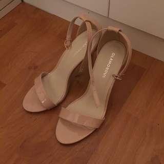 Pinkish Nude Heels