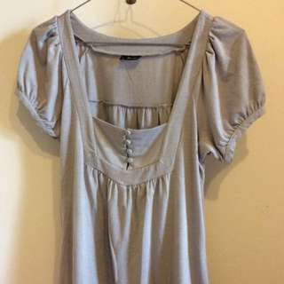 BARDOT 10 Grey Top