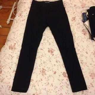 Ziggy Denim Black Ripped Jeans