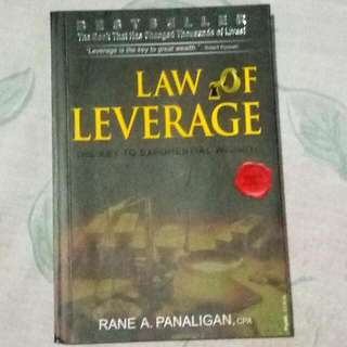 Law of Leverage by Rane A. Panaligan