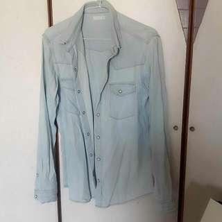 韓國製 男著襯衫 原價1580 現700