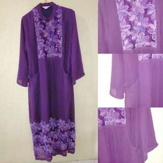 Pmytha Purple Moeslim Dress