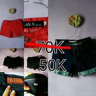 SALE!!! Hotpants Only 50ribu