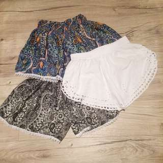 Boho Hippie Shorts