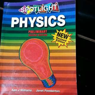 Spotlight Preliminary Physics Textbook