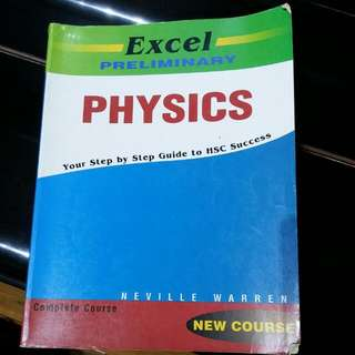 Excel Physics Preliminary Textbook