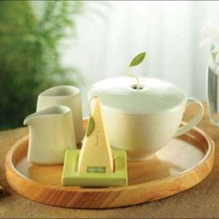 [美國入口]Ginger Lemongrass Triangular Tea Bag 薑香茅檸檬草茶包