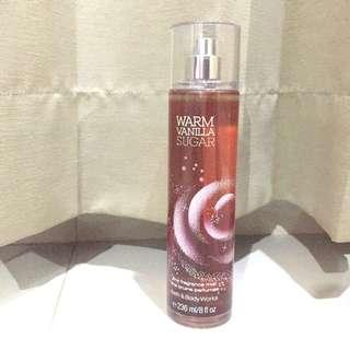 Warm Vanilla Sugar Bath&Body Works Mist