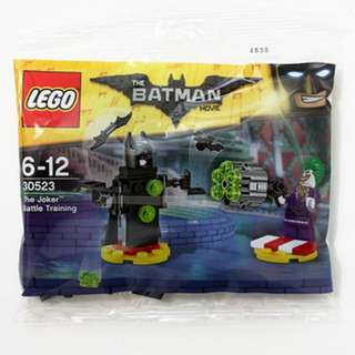 Lego The Batman Movie 30523 The Joker Battle Training