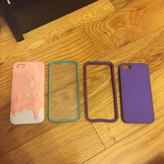 Iphone 5 Cases - $5 For The Lot