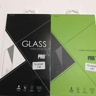 iPhone 7非滿版玻璃貼2.5D兩片