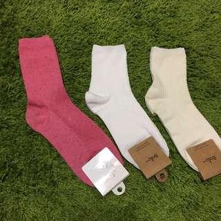 韓國 素面襪子