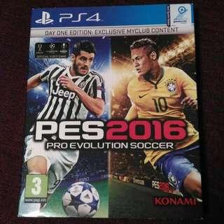 PS4 Pro Evolution Soccer 2016