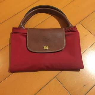 Longchamp Red Tote