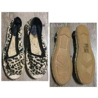 ▪️Odddoll.怪娃 H&M 豹紋 休閒鞋 39號 24.5公分
