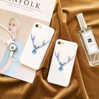 [PO] watercolour reindeer aesthetic matte case