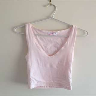 Crop top size xxs (fits 4-6)