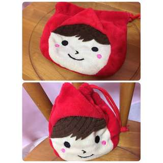 小紅帽束口袋