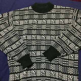 微高領針織毛衣