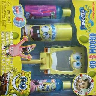 Spongebob Groom N Go Kit