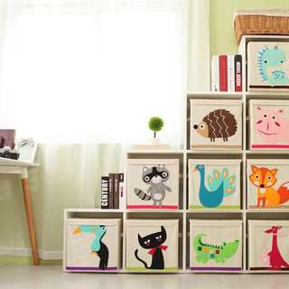 foldable toy storage boxes