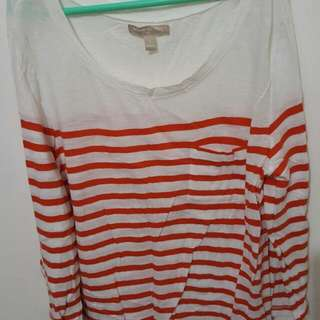 Kaos Garis-garis Banana Republic