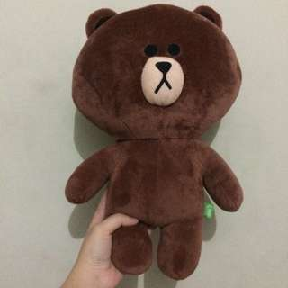Official Brown Plush Doll