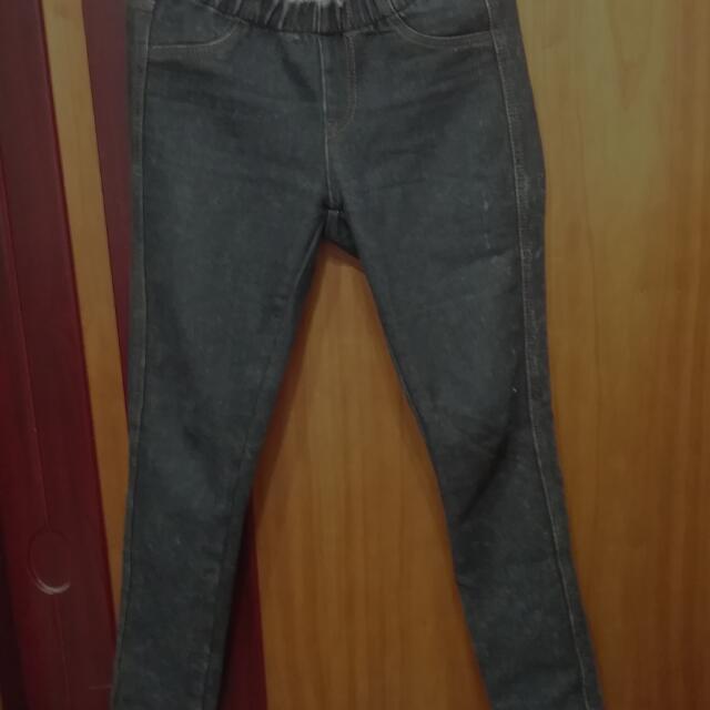 低腰牛仔褲