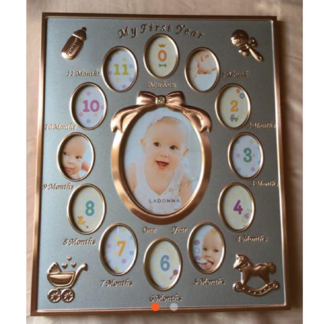 寶寶相框-玫瑰金