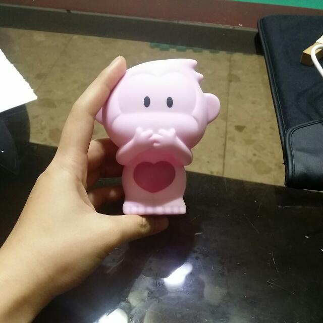 猴子存錢筒