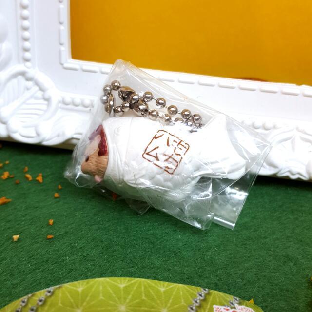 甜點倉鼠-白鯛魚燒吊飾