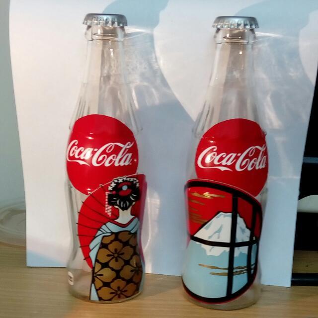 【可換物】可樂玻璃瓶 京都限定版