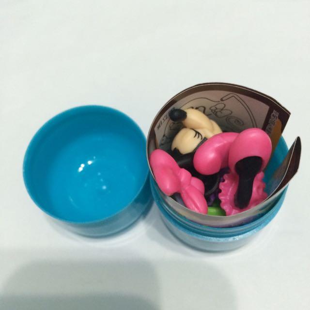 [特價]古田 巧克力蛋玩具  米妮公仔