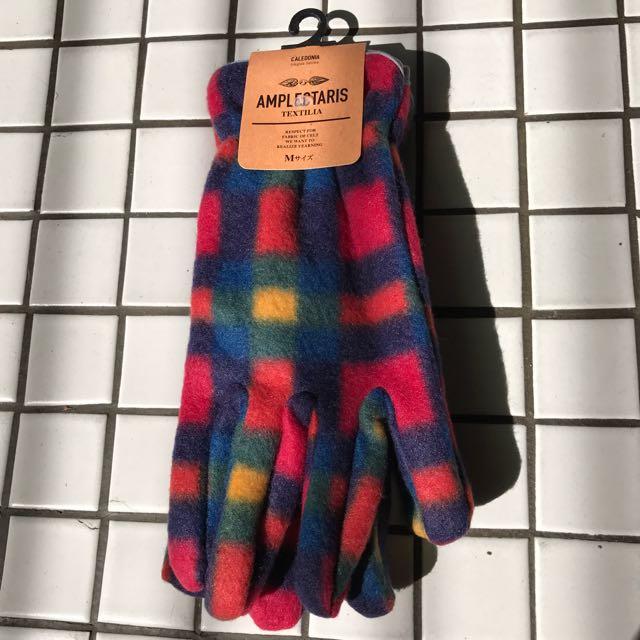 日本 購入 格子手套 格子 手套 格紋 格紋手套