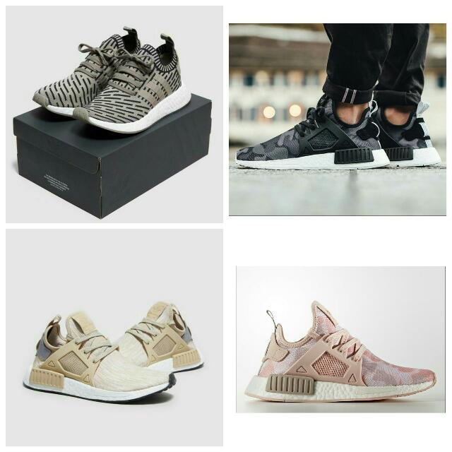 Adidas NMD, EQT, Superstar, Nike Roshe two, Etc..