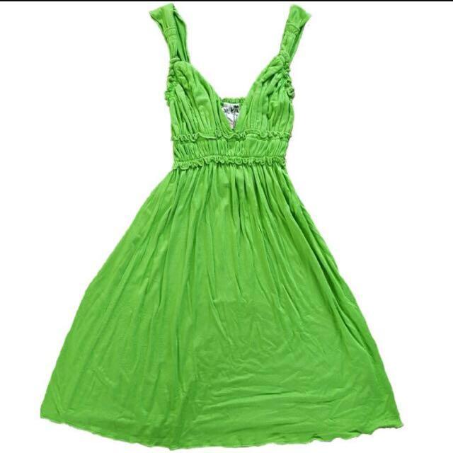 Apple green Summer Dress