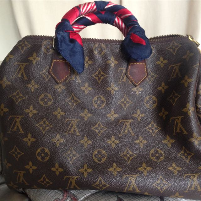 Authentic LV Louis Vuitton Speedy 30