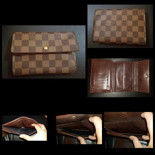 Authentic Lv Medium 3fold Wallet