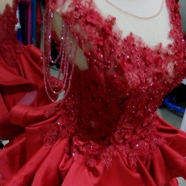 Baju Pesta Baju Penyanyi PO Satu Minggu Pesan Warna  Boleh ..model Request Juga Boleh..butiq Noviipand Fashion Depok Jawa Barat ...