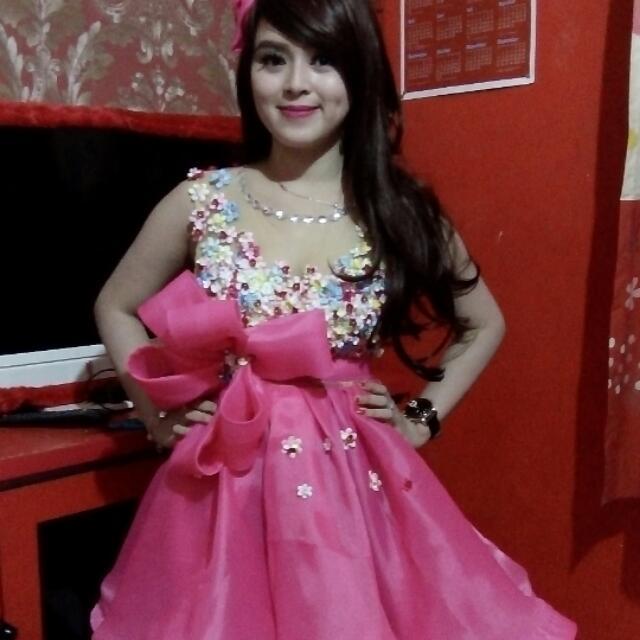 Baju Pesta Baju Show Dll Pemesanan Po 1 Minggu  Reques Warna Dan Model Juga Bisa ..