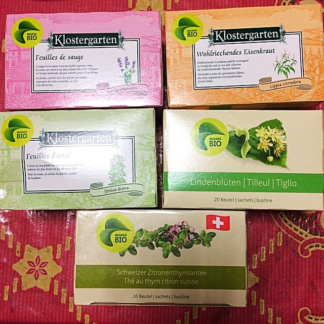 瑞士Bio有機花草茶