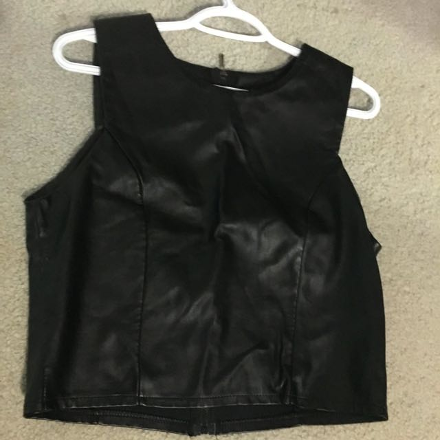 Black Leather Top