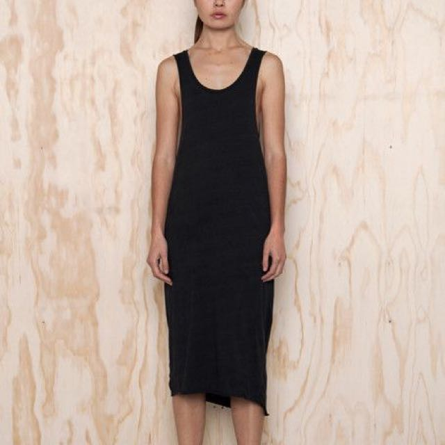 Black Midi Dress Size 8