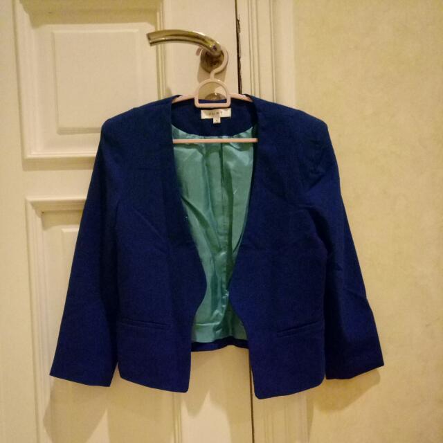 Blazer Biru Wanita