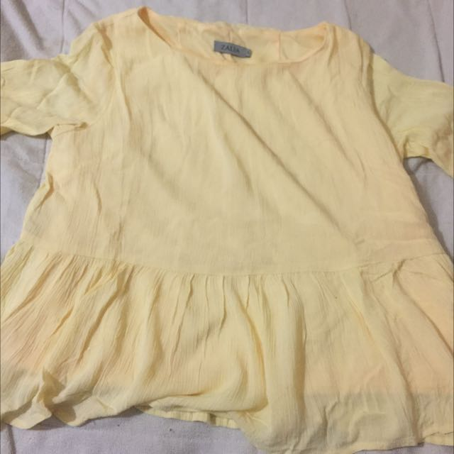 ( REPRICED ) blouse zalia