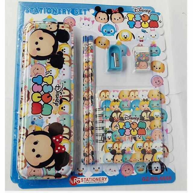Brand New Stationery Tsum Tsum Set