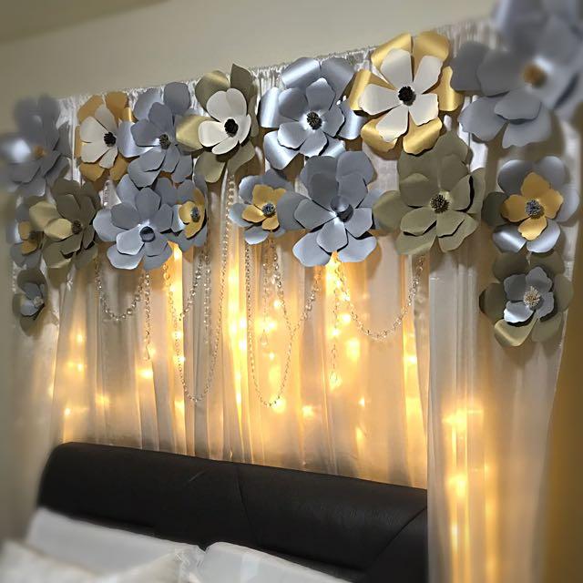 Bridal Room Decor Hiasan Bilik Pengantin Everything Else On Carousell