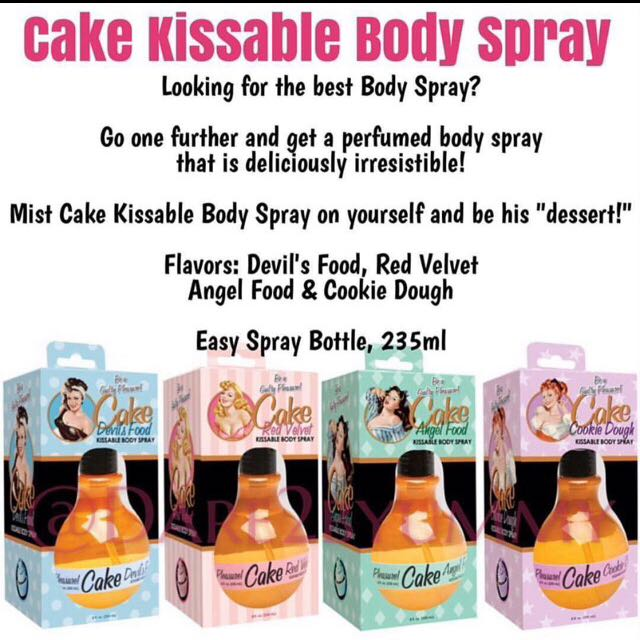 Cake Kissable Body Spray