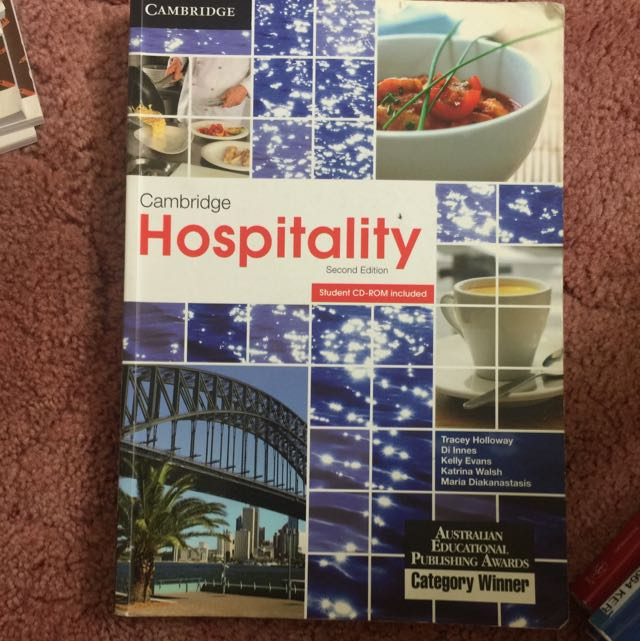 Cambridge Hospitality Second Edition