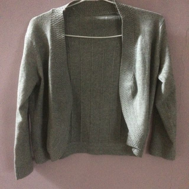 Cardigan/outer Grey